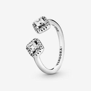 🔥PANDORA Polished Heart Open Ring